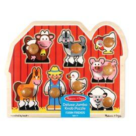 Large Farm Jumbo Knob Puzzle – 8 pieces