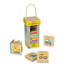 Natural Play Book Tower: Little Vehicle Books