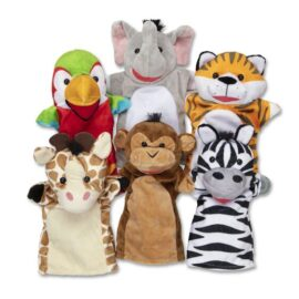 Safari Buddies Hand Puppets