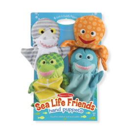 Sea Life Friends Hand Puppets