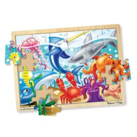Under the Sea Wooden Jigsaw Puzzle – 24 Pieces