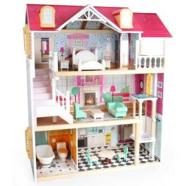 TopBright – Country Estate Doll House – Furnished with Elevator